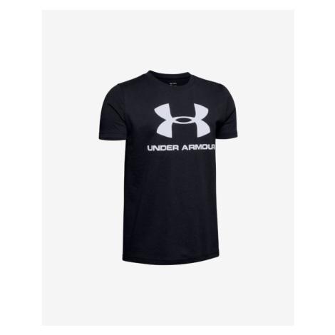 Under Armour Sportstyle Koszulka dziecięce Czarny