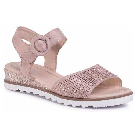 Sandały CLARA BARSON - W17SS824-15 Pink