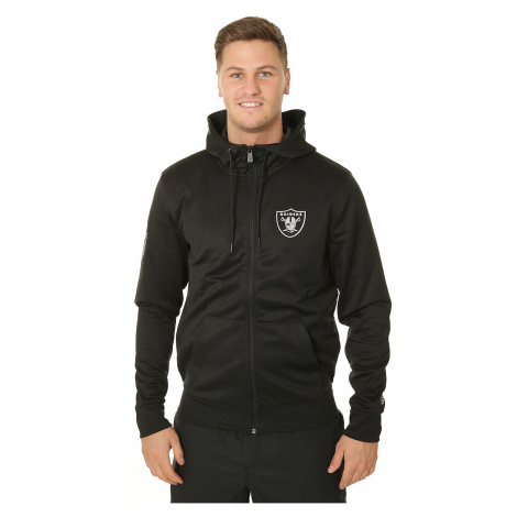 bluza New Era Pop Hoody Zip NFL Oakland Raiders - Black