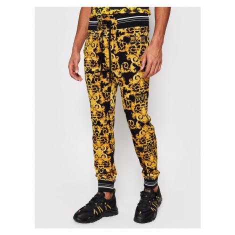 Versace Jeans Couture Spodnie dresowe A2GWA1F1 Czarny Regular Fit
