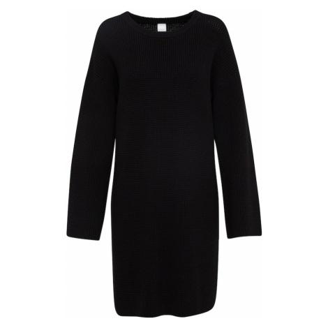 BOSS Sukienka z dzianiny 'Itarisa' czarny Hugo Boss