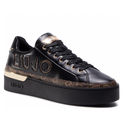 Sneakersy LIU JO - Silvia 22 BF0085 EX014 Black 22222