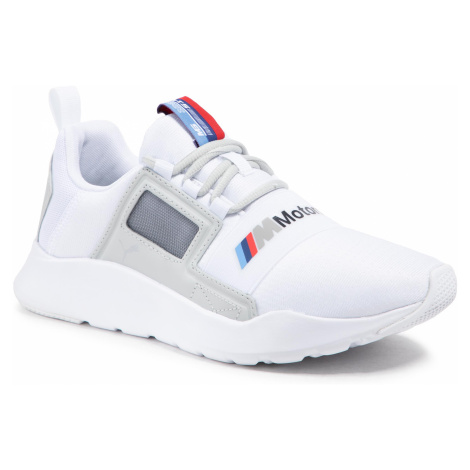 Sneakersy PUMA - Bmw Mms Wired Cage 306504 02 P White/Gray Violet/P White