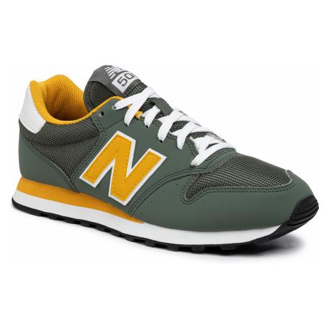 Sneakersy NEW BALANCE - GM500TRU Zielony