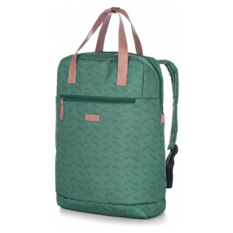 REINA damski plecak miejski zielony LOAP