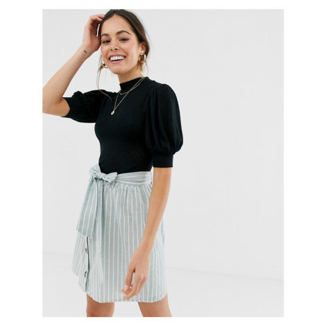 Free People good luck puff sleeve t-shirt