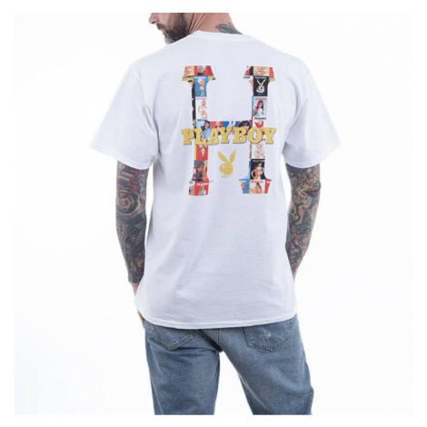 Koszulka męska HUF x Playboy Classic H S/S Tee TS01463 WHITE