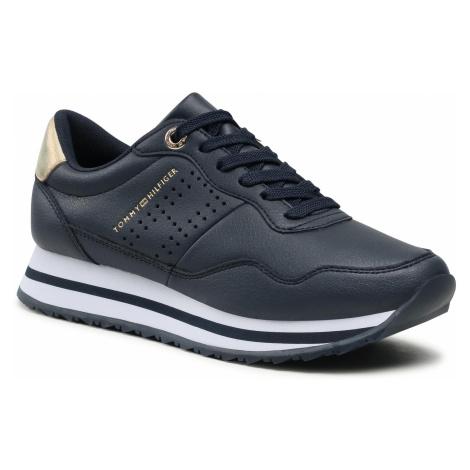 Sneakersy TOMMY HILFIGER - Lifestyle Runner Sneaker FW0FW05557 Desert Sky DW5