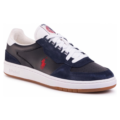Sneakersy POLO RALPH LAUREN - Crt Pp 809800457004 Navy/Red Pp