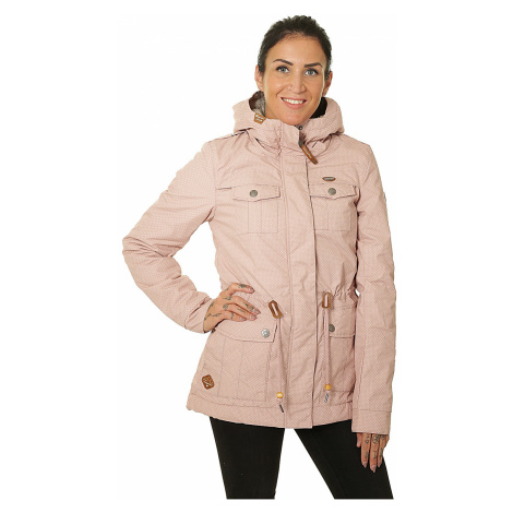 kurtka Ragwear Laika Minidots - 4053/Old Pink