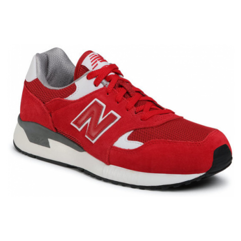 New Balance Sneakersy ML570HJD Czerwony