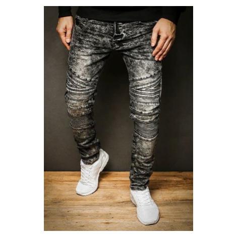 Gray men's denim trousers UX2311 DStreet
