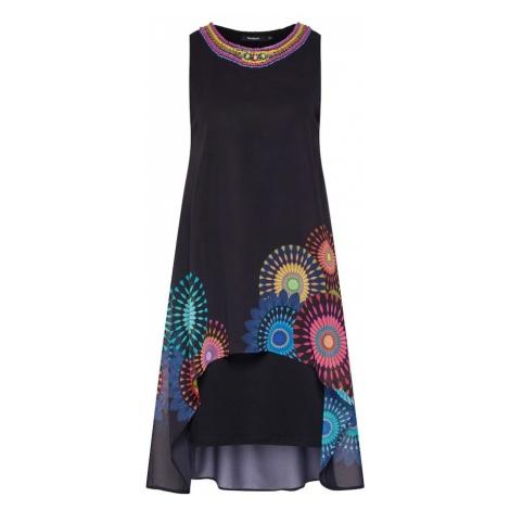 Desigual Sukienka 'VEST_PORTIA' mieszane kolory / czarny