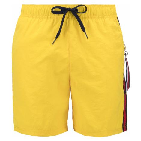 Tommy Hilfiger Strój kąpielowy Żółty