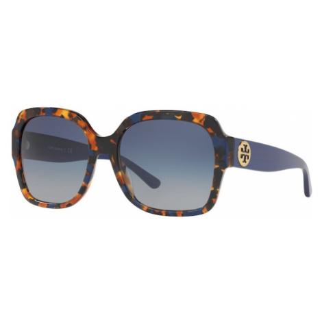 Tory Burch Okulary przeciwsłoneczne szary / niebieski