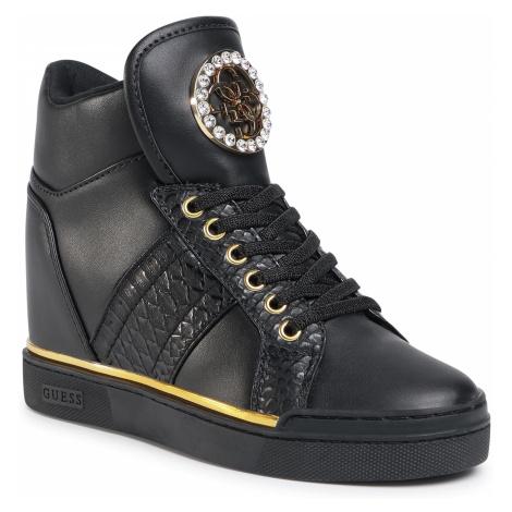 Sneakersy GUESS - FL5FRE ELE12 BLACK