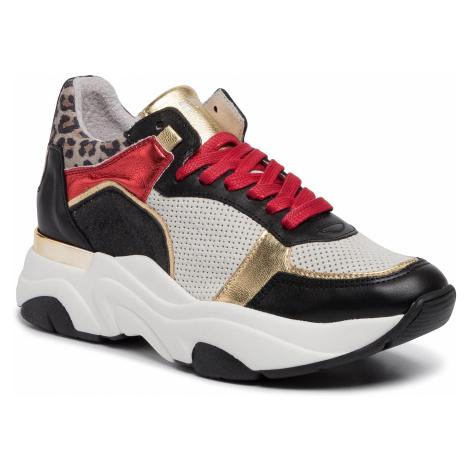Sneakersy STEVE MADDEN - Flexy SM11000741-03001-065 Black/Gold