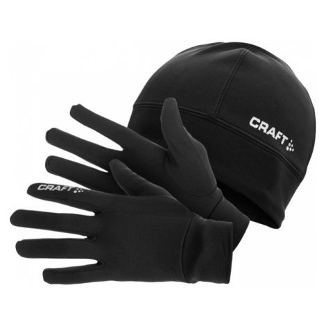 Craft RUNNING WINTER GIFT PACK - Czapka i rękawice
