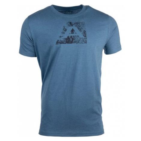 ALPINE PRO UMBERT niebieski M - Koszulka męska