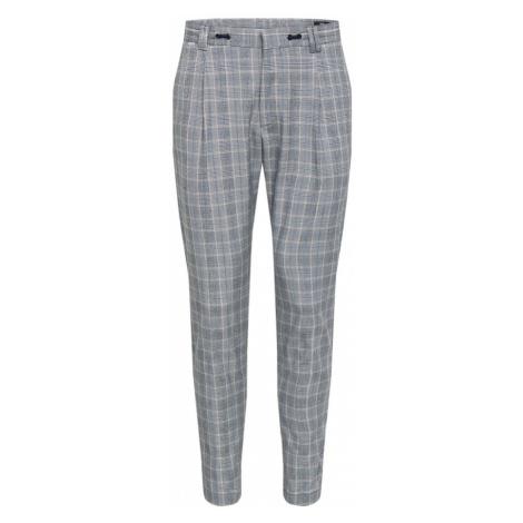 CINQUE Spodnie 'JUNO' szary / biały / niebieski