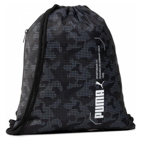 Plecak PUMA - Style Gym Sack 076704 06 Puma Black/Camo Aop