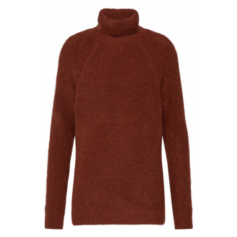 ONLY Sweter 'JADE L/S ROLLNECK PULLOVER CC KNT' pomarańczowy
