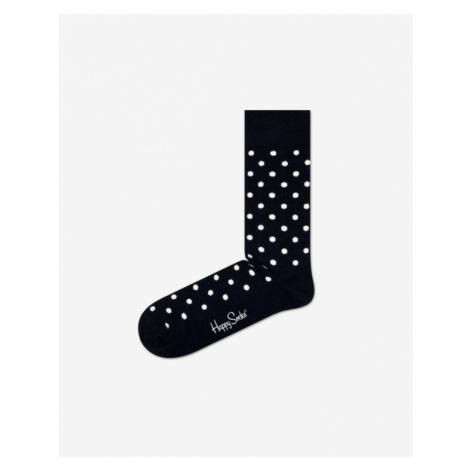 Happy Socks Dot Skarpetki Czarny Biały
