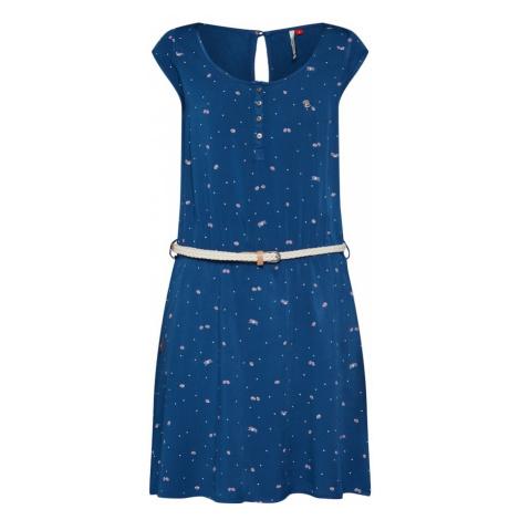 Ragwear Sukienka 'Zephie' błękitny / mieszane kolory