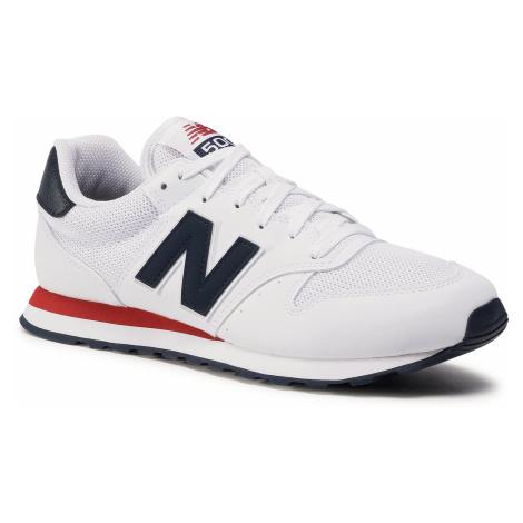 Sneakersy NEW BALANCE - GM500SWB Biały