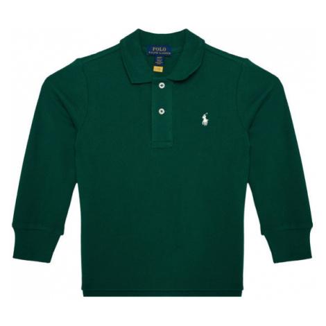 Polo Ralph Lauren Polo Ls Kc 321703634023 Zielony Regular Fit