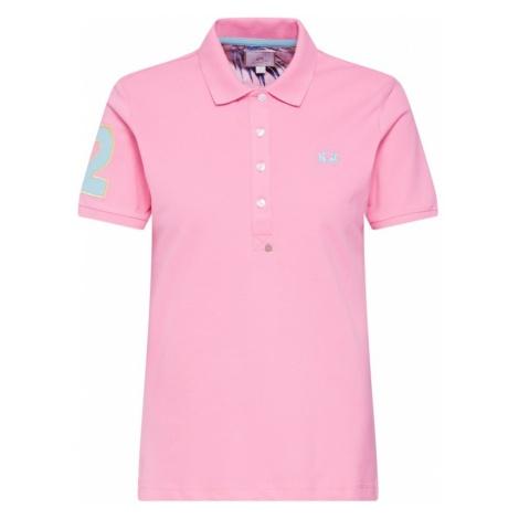 La Martina Koszulka 'WOMAN POLO PIQUET STRETCH' różowy pudrowy