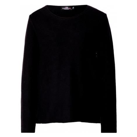 Zwillingsherz Sweter czarny