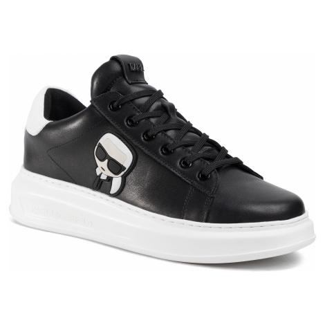 Sneakersy KARL LAGERFELD - KL52530 Black Lthr