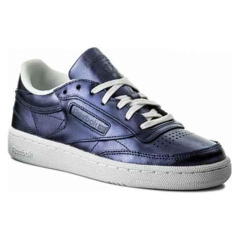 Buty Reebok - Club C 85 S Shine CM8687 Royal Dark Blue/White