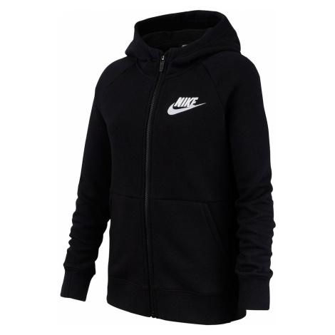 Nike Sportswear Bluza z kapturem z pełnym zamkiem błyskawicznym Junior Girls
