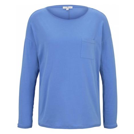 TOM TAILOR Koszulka podpalany niebieski