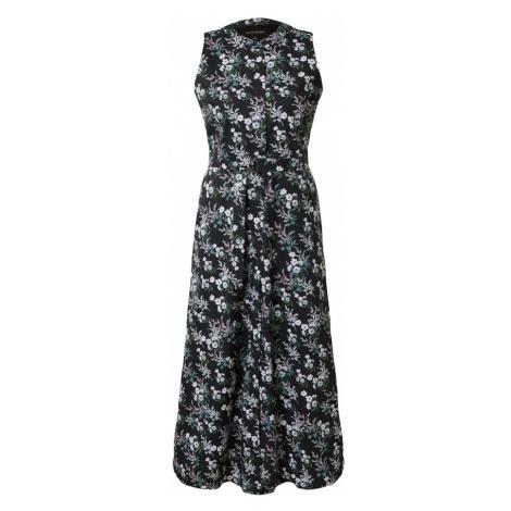 Banana Republic Sukienka koszulowa czarny / mieszane kolory