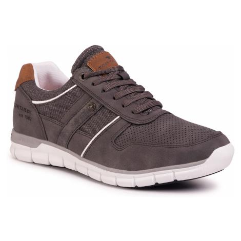 Sneakersy TOM TAILOR - 808190300 Grey