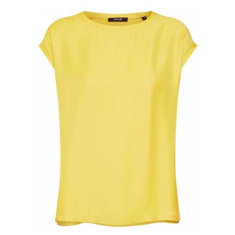 OPUS Bluzka 'Finya' żółty