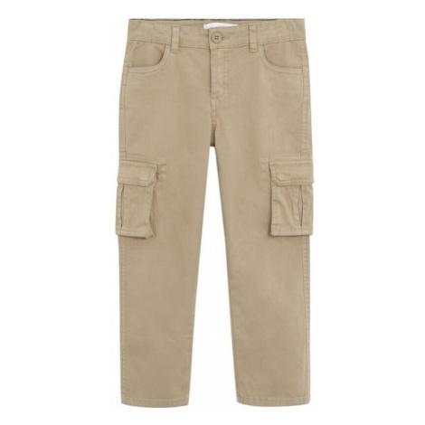 MANGO KIDS Spodnie 'Sebas' ecru