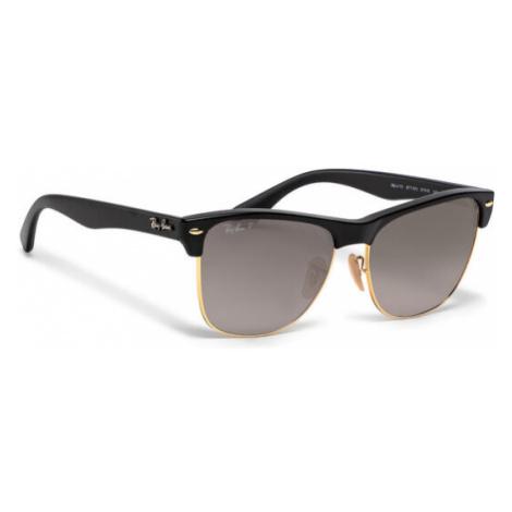 Ray-Ban Okulary przeciwsłoneczne Clubmaster Oversized 0RB4175 877/M3 Brązowy