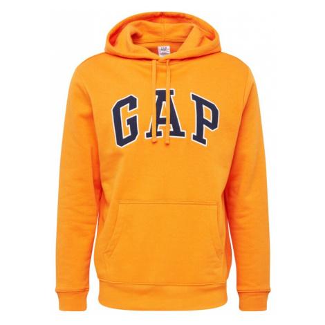 GAP Bluzka sportowa pomarańczowy / niebieski