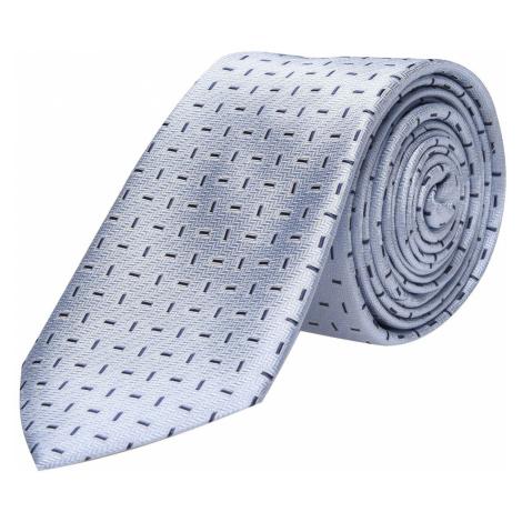 Calvin Klein Motyw Jedwabny Krawat