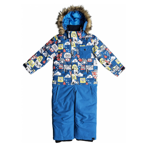 kombinezon Quiksilver Rookie Kids Suit - BQC1/Daphne Blue/Animal Party