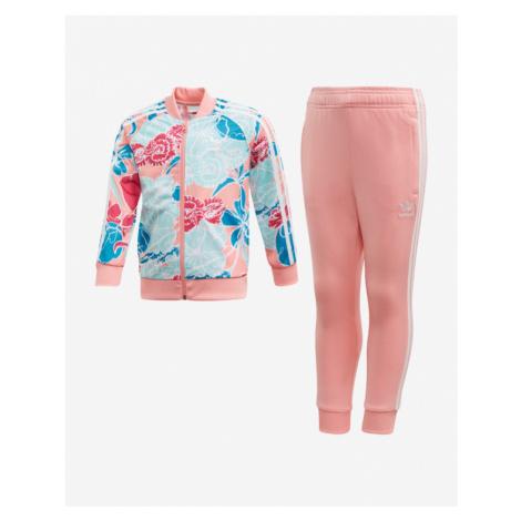 adidas Originals SST Dresowy zestaw dziecięcy Różowy Beżowy