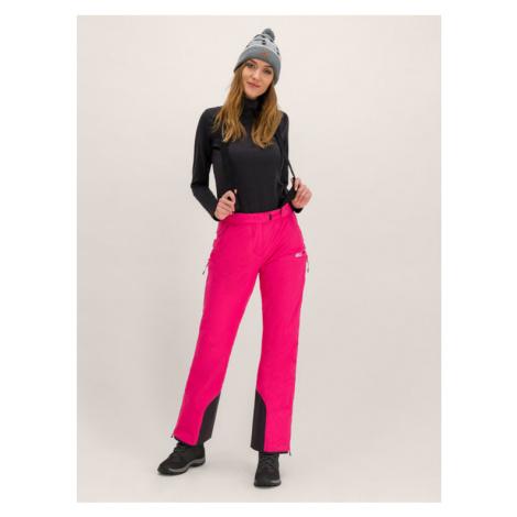 Jack Wolfskin Spodnie narciarskie Bridgeport 1111841-2054 Różowy Regular Fit