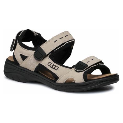 Sandały RIEKER - 64582-60 Beige