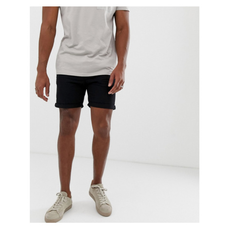 Bellfield chino shorts in black