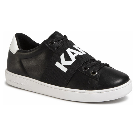 Sneakersy KARL LAGERFELD - KL61236 Black Lthr