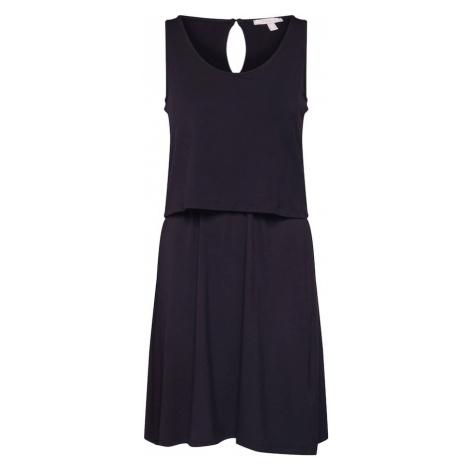 ESPRIT Letnia sukienka 'Layering' czarny